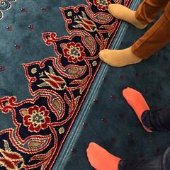 No shoes! #mosque #mezquitanueva #estambul #turquia #mezquita