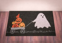 tag halloween doormat