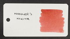 Noodler's Nikita - Word Card