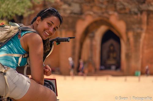 Bagan on the e-bike