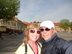 - a walk through the main square of Eger