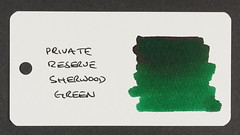 Private Reserve Sherwood Green - Word Card