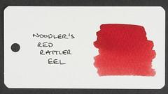 Noodler's Red Rattler Eel - Word Card