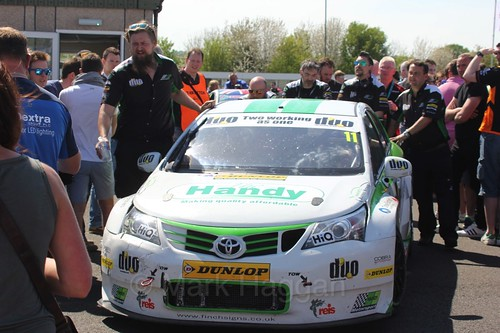 Rob Austin during the BTCC Weekend at Thruxton, May 2016