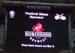 Robinsons big screen display