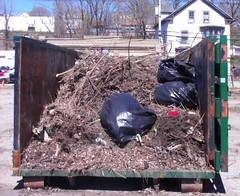 Dumpster filled up quick!