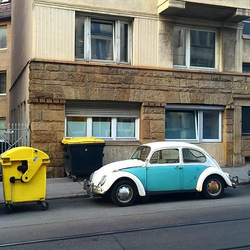 Ich liebe dieses #Auto #VW #Käfer #Beatle @ #Hackerstreet #0711 #Stuttgart