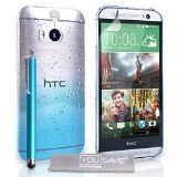 blue hard case clear cover stylus accessories raindrop 2014 yousave