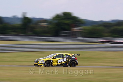 Adam Morgan in Touring Car action during the BTCC 2016 Weekend at Snetterton