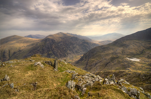 Glyder Fawr from the Snowdon Massif