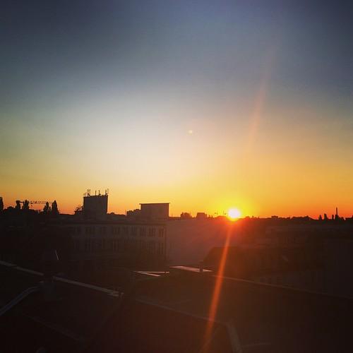 Auf den Dächern von #Berlin