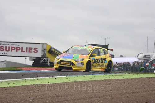 Alex Martin in BTCC race two at Knockhill Weekend 2016