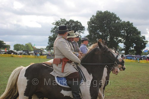 The 8th Texas Cavalry as part of the US Civil War Reenactment Society at the Shakerstone Festival 2016