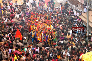 Utardwar of Lord JAgaanth Temple, Daru Sagadi is in procession to enter temple