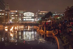 WaterFire Audience