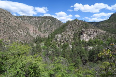 Getting out of the Gila at the Meadows and cross country hiking to Snow Lake.