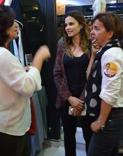 Wanda, Laura e Cassinha, que chegava de mais um dia de campanha para vereadora por Ipatinga