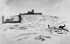 Rodborough Fort in Snow