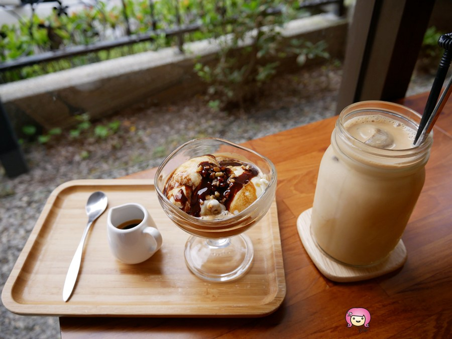 林口 美食,林口55號咖啡,林口咖啡,林口甜點,林口美食,桃園咖啡,桃園美食,黑龍珠冰拿鐵 @VIVIYU小世界