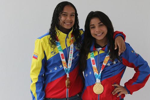 María Giménez y Katherin Echandia - Edixon Gamez