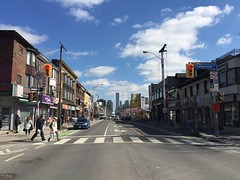 Bloor St W at Palmerston Ave, Toronto