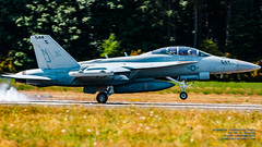VAQ-129 Making A Widescreen Smoky Touch on OLF Coupeville