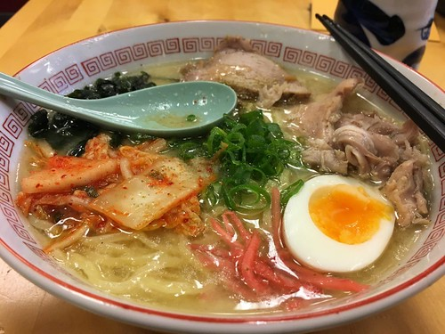 Tonkotsu ramen by Ervaar Japan, on Flickr