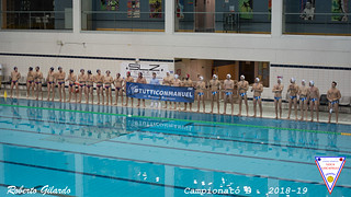 2019-03-30 Vigevano Nuoto - US L. Locatelli  4-4
