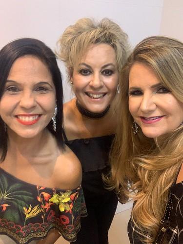 Adriana Souza Lima, Alkba Valéria e Sônia Siman