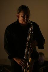 heavy sax solo