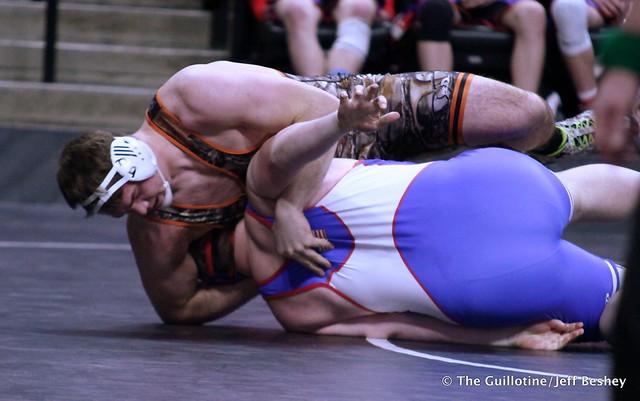 285 – Craig Orlando (BHVPP) over Sam Bauer (TMBWWG) Fall 0:55. 190228AJF0113