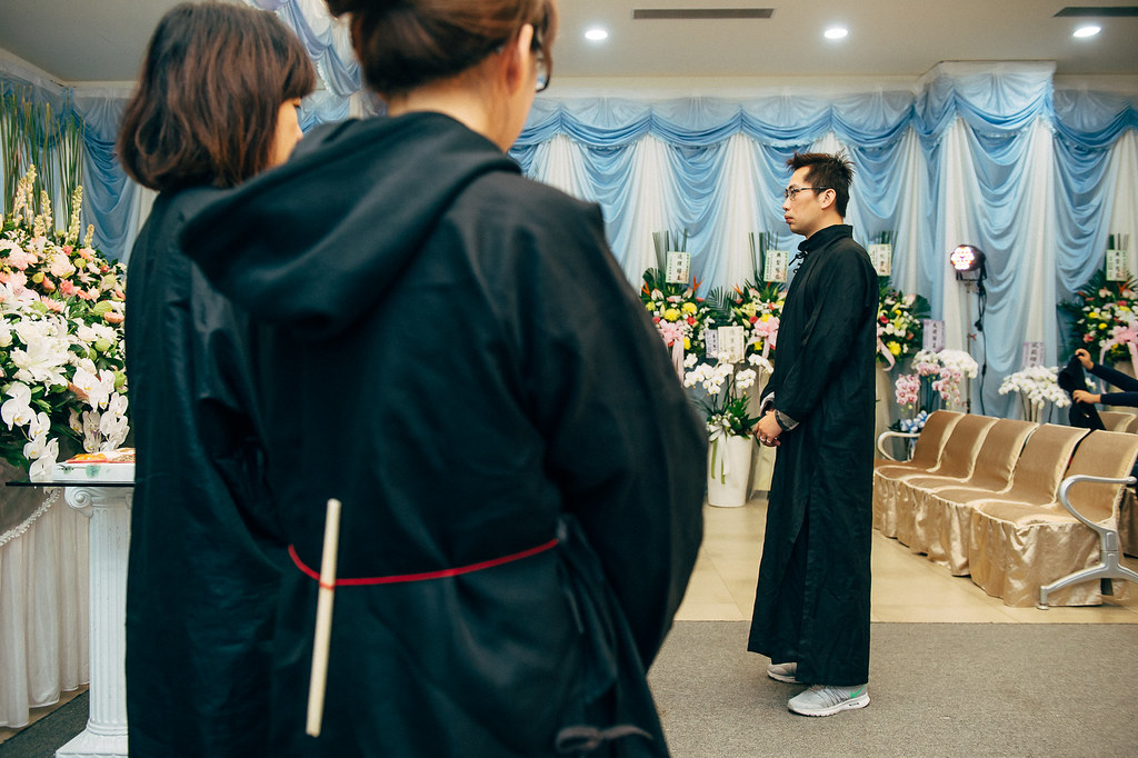 《喪禮攝影》苗栗後龍福祿壽生命園區 / 黃奠