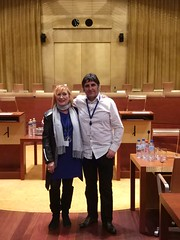 Maite Ortiz eta JM Erauskin Europar Batasuneko Justizia Epaitegian, 2019/2/25
