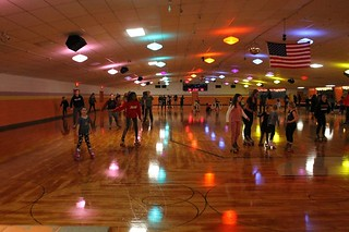 Last skate night of the year . . .
