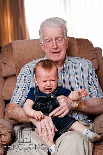 Miles meeting his Great Grandfather | St. Petersburg, FL