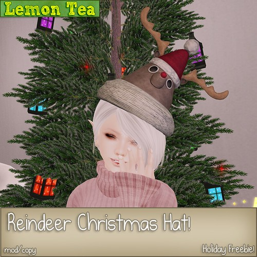 Freebie: Reindeer Hat! by Sei Minuet / {Lemon Tea}