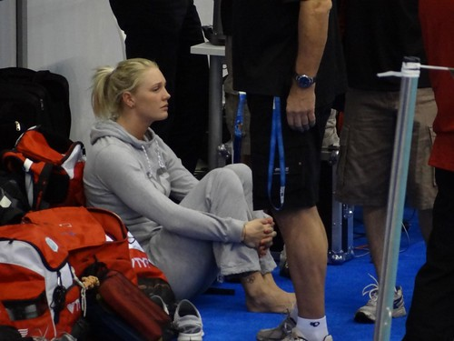 Jeanette Ottesen zoning out at Szczecin 2011