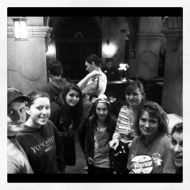 About to get our scream on!