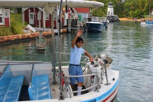Jaws boat and skipper