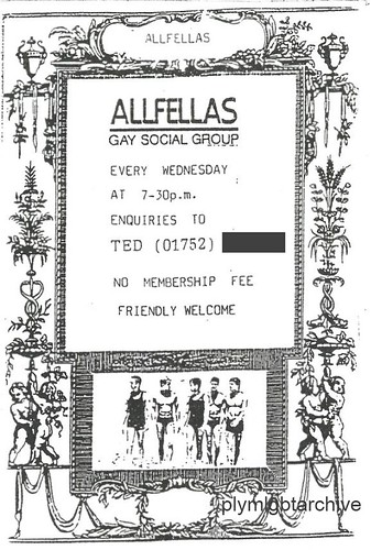 ALLFELLAS Flyer 1990's by Pride in Our Past