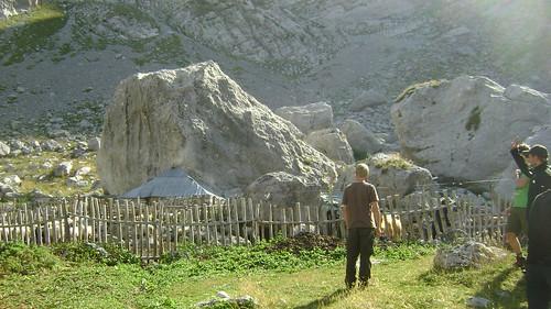 The only mountain hut in Gropa e Kopricshtes