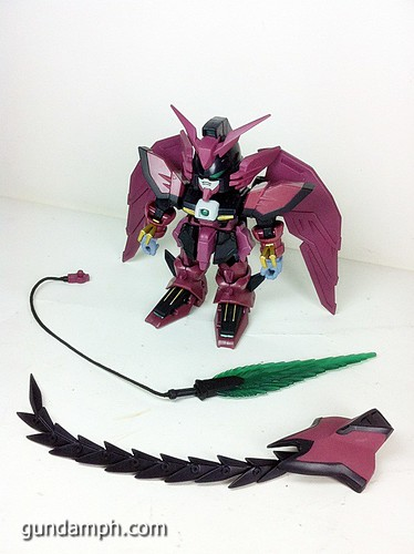 SD Gundam Online Capsule Fighter EPYON Toy Figure Unboxing Review (12)