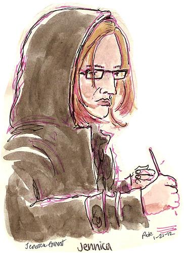 sketchcrawl 34 jennica