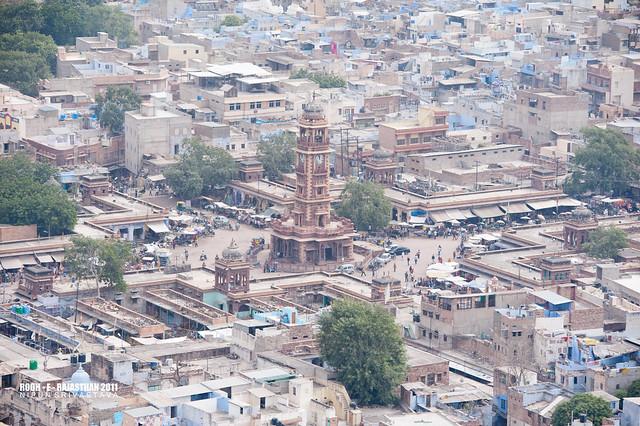 The Ghanta ghar, old Jodhpur.