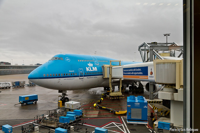 Boeing 747 de KLM con destino Tokio