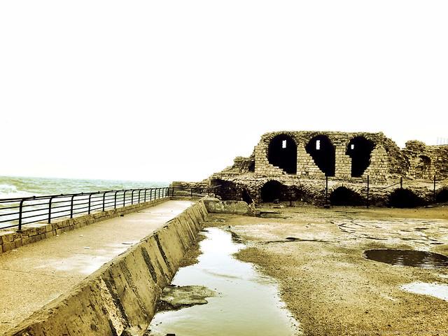 Ruins along the Sea