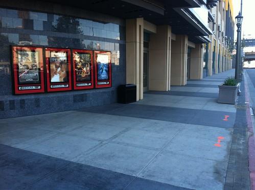 Regal Cinema future bike racks