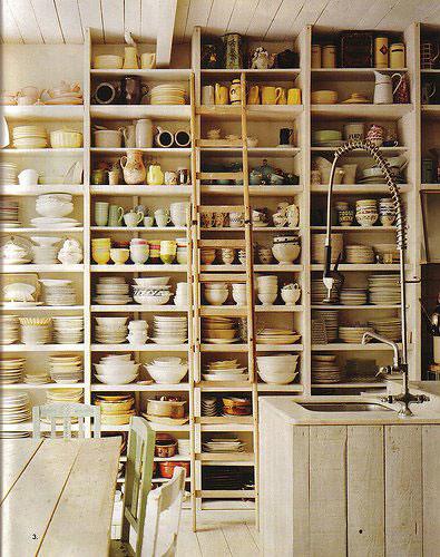 OCD open shelves