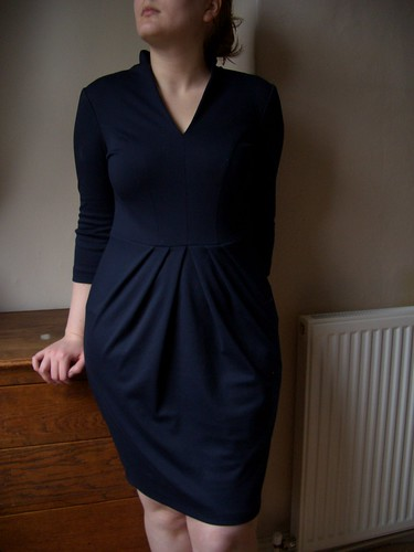 Biubiu Ponti Navy Dress