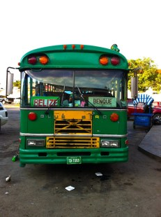 Our bus to Belize